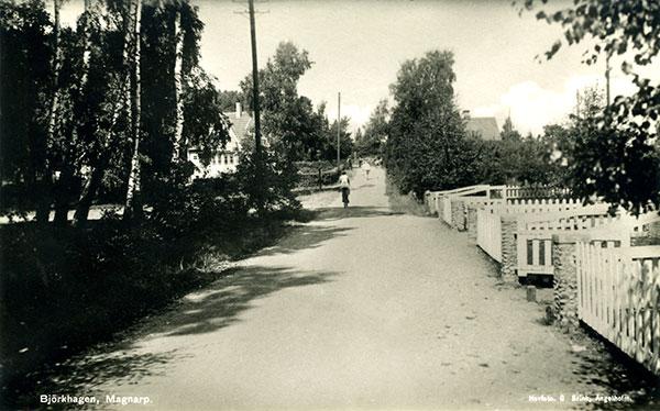 Björkhagen vykort