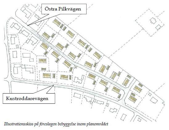 Karta till detaljplan för del av Barkåkra 22:8 m.fl. i Skepparkroken