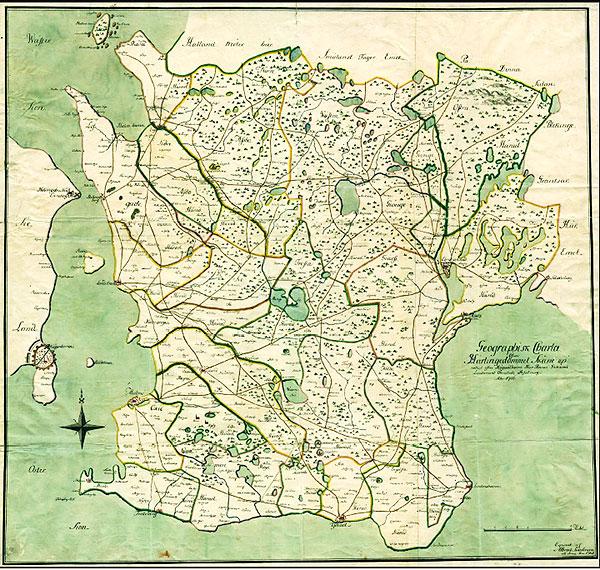 Karta Skåne