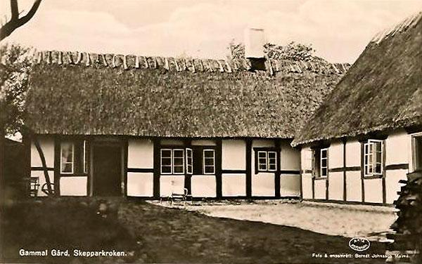 Skepparkroken Solgården vykort