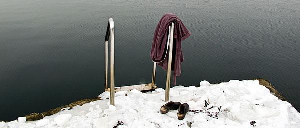 Björkhagens badbrygga Skälderviken