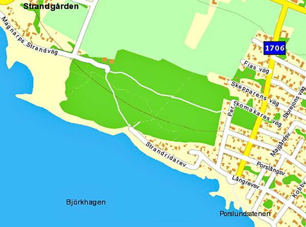 Magnarp Björkhagen Kronoplantering