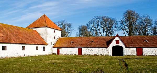 Engeltoftas inre gård