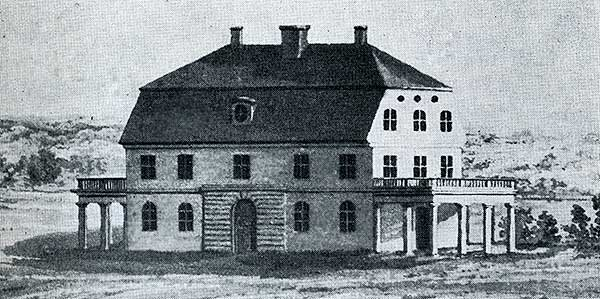 Engeltoftas fabrik för tillverkning av jordbruksredskap - uppförd 1804
