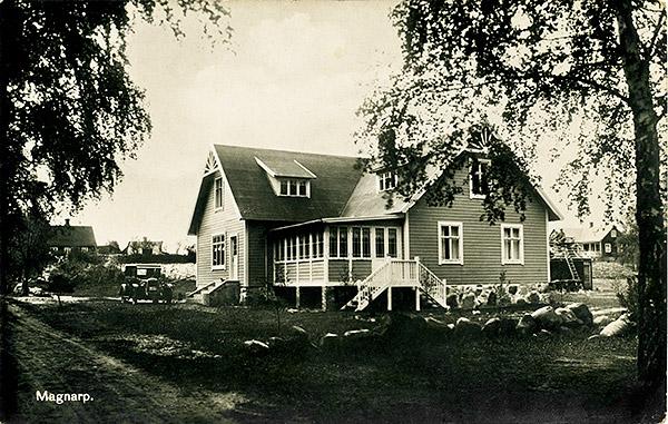 Affären i Björkhagen c:a år 1930