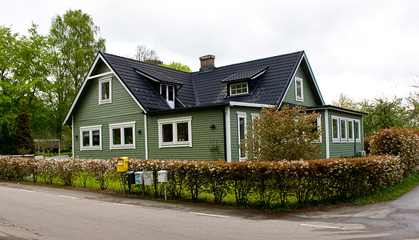 Före detta affären i Björkhagen i maj 2010
