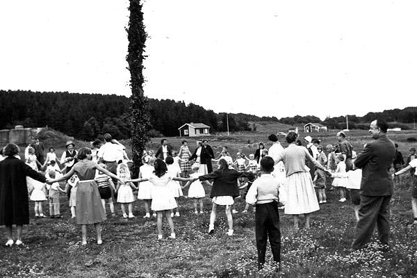 Midsommar i Skepparkroken 1956 - bild 6