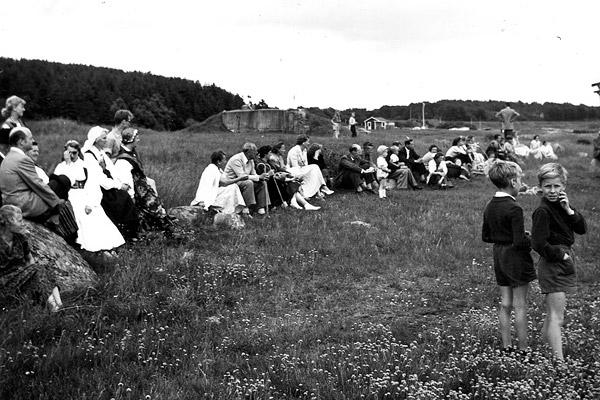 Midsommar i Skepparkroken 1956 - bild 9