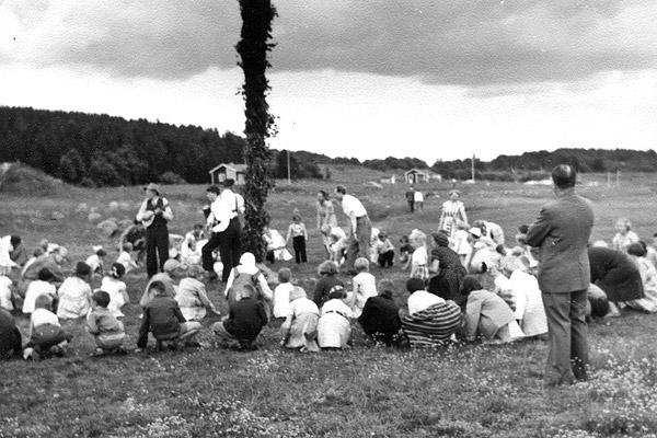 Midsommar i Skepparkroken 1956 - bild 7
