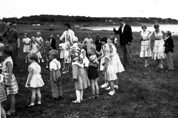 Midsommar i Skepparkroken 1956 - bild 8