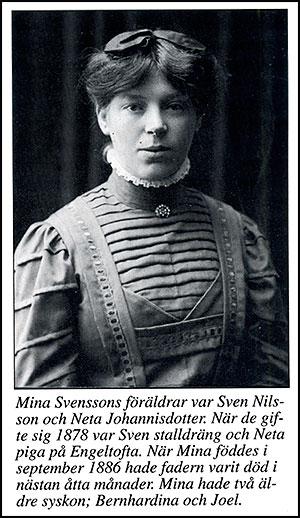 Mina Svensson Skepparkroken. Bild från Bjärebygden 1993, Gösta Hellberg