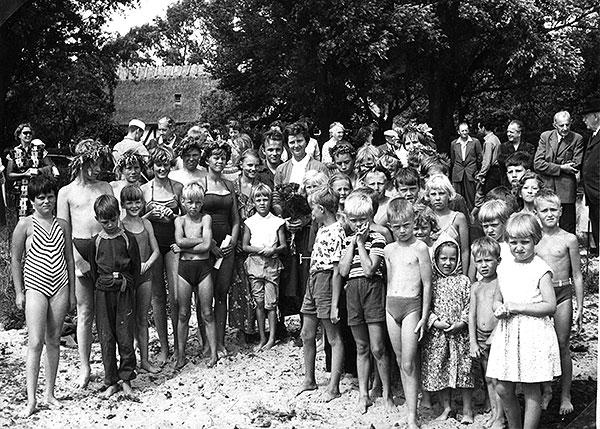 Simpromotion i Skepparkroken år 1956