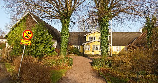 Hulths gård i Skepparkroken i November 2009