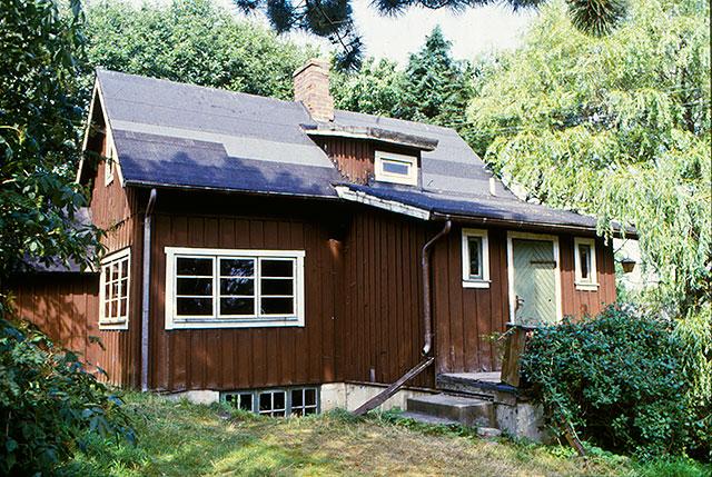 Handlaren Otto Hedströms hus i Skepparkroken på 1980-talet