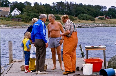 Gustaf Petrén, Fiskar-Olle m.fl. i Skepparkroken (1980-tal)