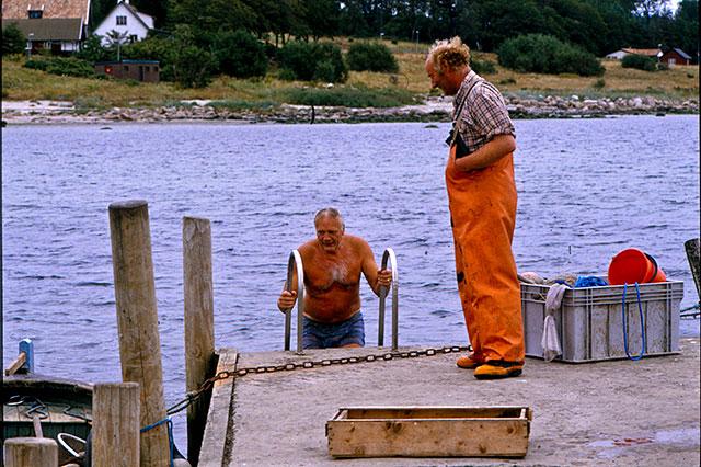 Gustaf Petrén, Fiskar-Olle i Skepparkroken (1980-tal)