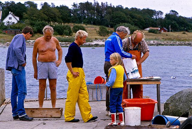 Gustaf Petrén, Bengt Hellberg, Fiskar-Olle m.fl. i Skepparkroken (1980-tal)