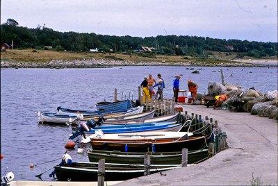 Bryggan i Skepparkroken (1980-tal)