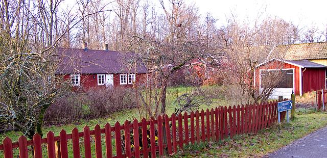 Brynolfs hus i Björkhagen vid Per Skomakares väg i november 2009