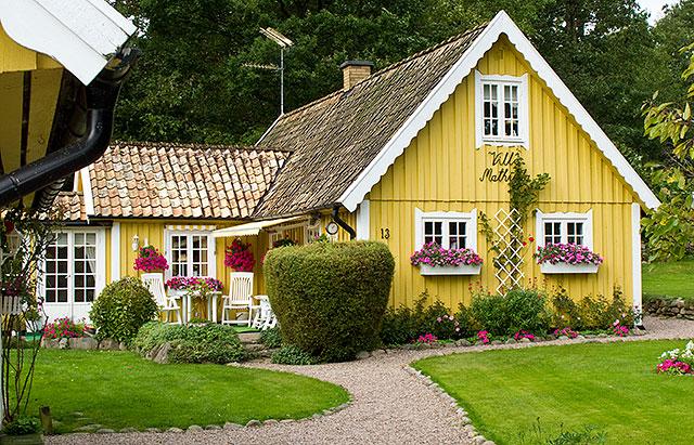 Villa Mathilda - Per Skomakares hus i Björkhagen i september 2010