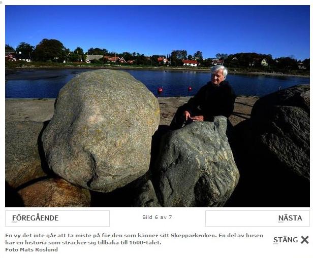 Bild från HD/NST artikel av Michael Lundblad. Foto Mats Roslund