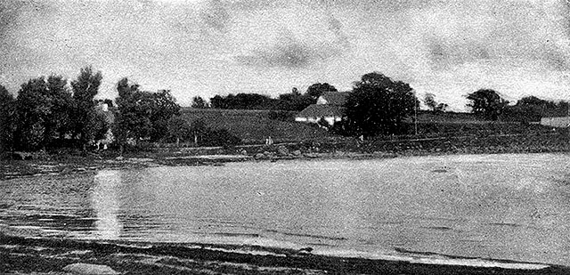 Almgården i Skepparkroken c:a 1920