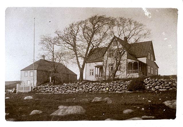 Almgården i Skepparkroken c:a 1906 (bilden tillhör Erik Hellberg)