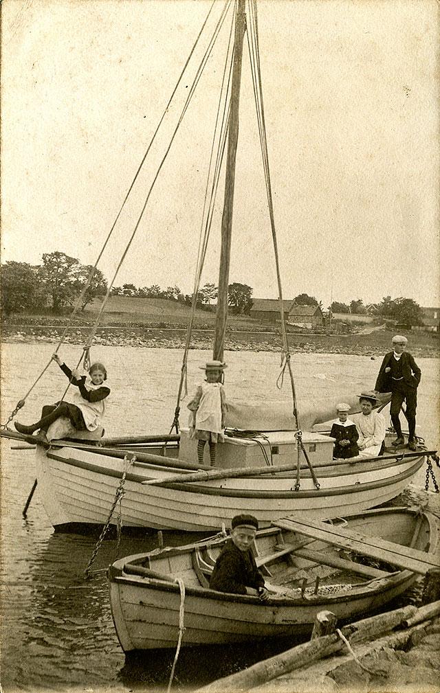 Skepparkroken c:a 1900 (bilden tillhör Erik Hellberg)