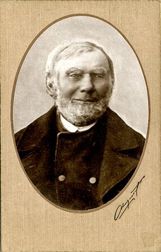 Bengt Håkansson (1822-1913) från Skepparkroken (bilden tillhör Erik Hellberg)
