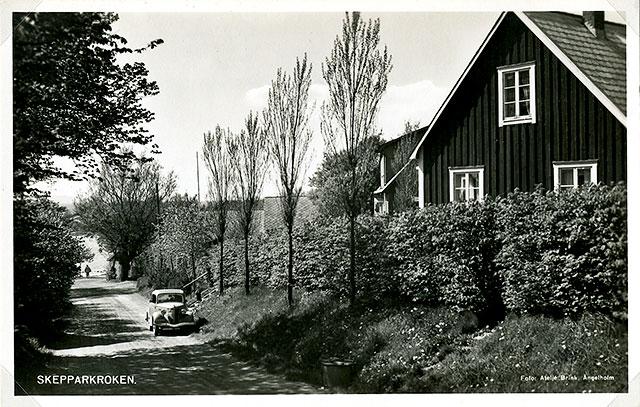 Backen ner till Skepparkroken på 1940-talet