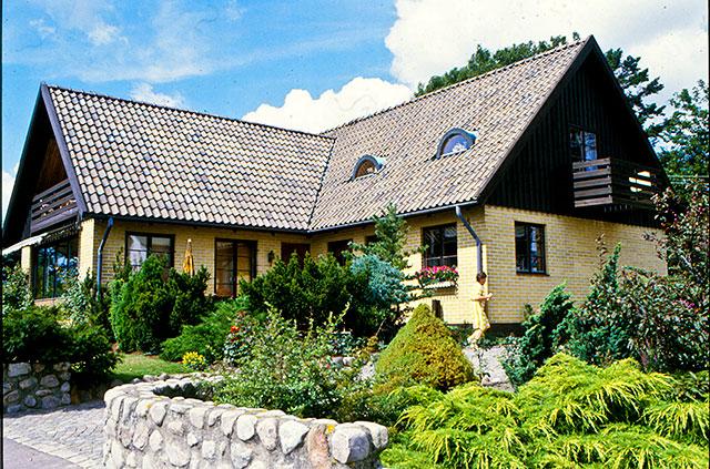 Hellbergs gård i Skepparkroken på 1980-talet (fotot lånat av Evy Hulth)