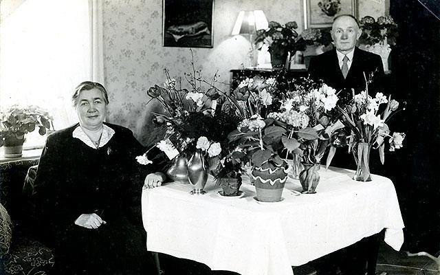 Joel och Elina Persson i Skepparkroken (bilden tillhör Erik Hellberg)