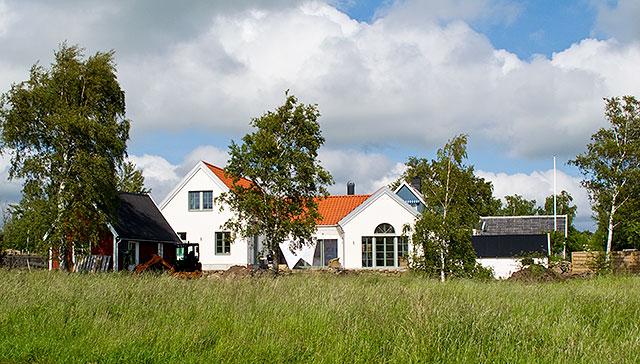 Nytt hus vid Mattis Pauls i Skepparkroken (juni 2010)