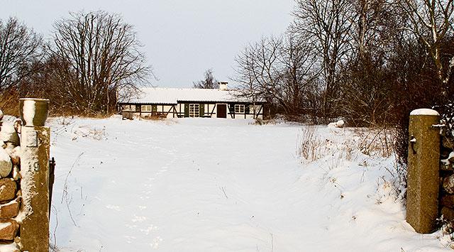 Överste Jacobssons hus Skepparkroken i december 2010