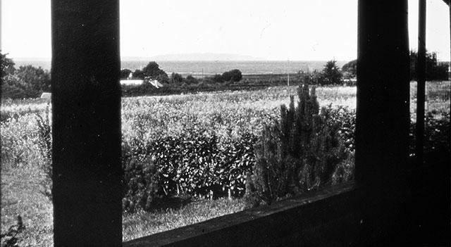 Utsikten från Kjöllerströms hus i Skepparkroken på 1940-talet