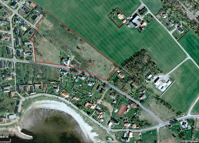 Satellitbild över Skepparkroken från Google