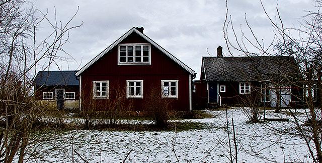 Bröderna Hults hus vid Magnarps skog