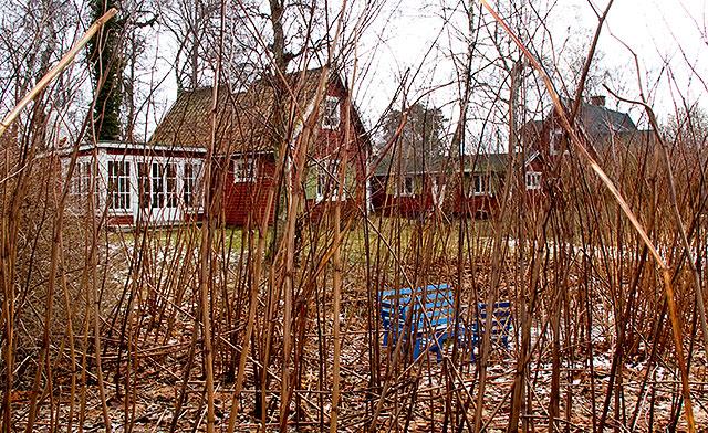 Rombergs hus i Björkhagen i februari 2011