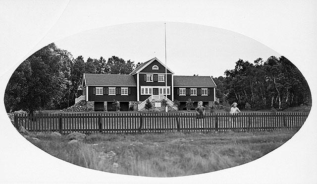 Lundakolonin i Björkhagen på 1920-talet (foto Robert Romberg)