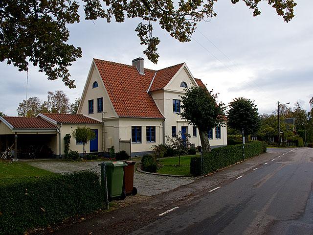 Den tidigare Landskronakolonin i Björkhagen i oktober 2010