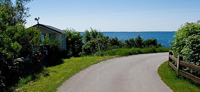 Strandridarevägen i Björkhagen i juni 2011