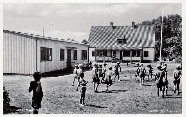 Landskronakolonin i Björkhagen på 1940-talet
