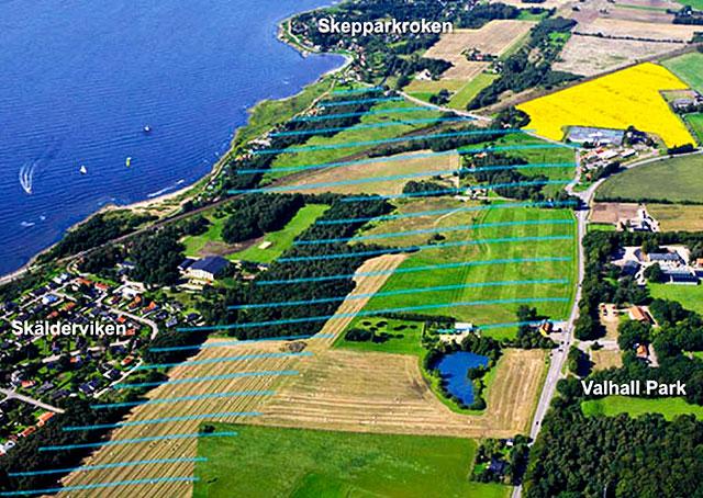 Bild över BJÄREstrand från peab.se