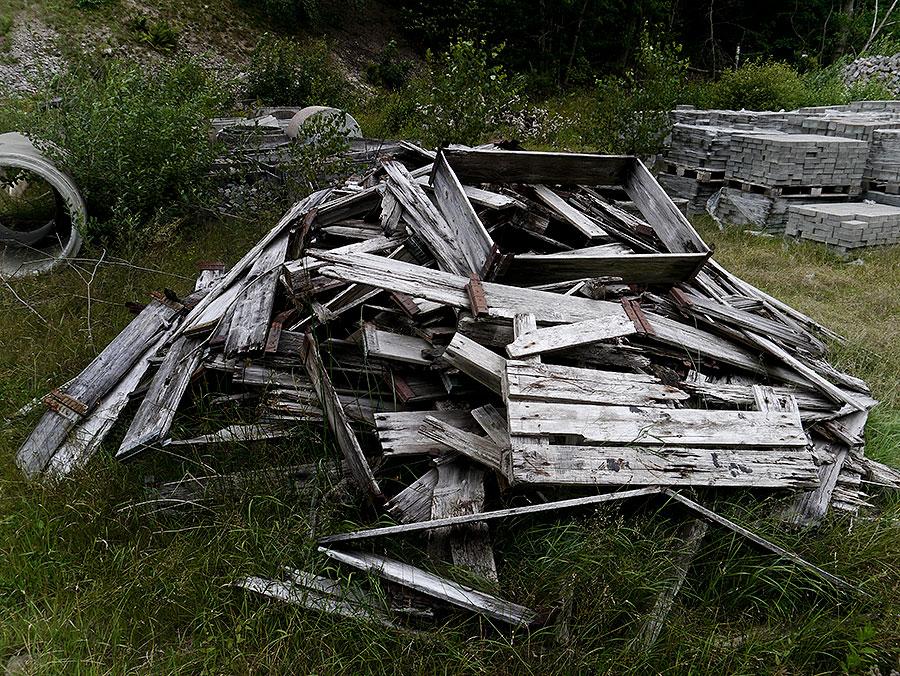 Bild 11- Kommunalt förråd vid Skepparkroksvägen 2011-08-14