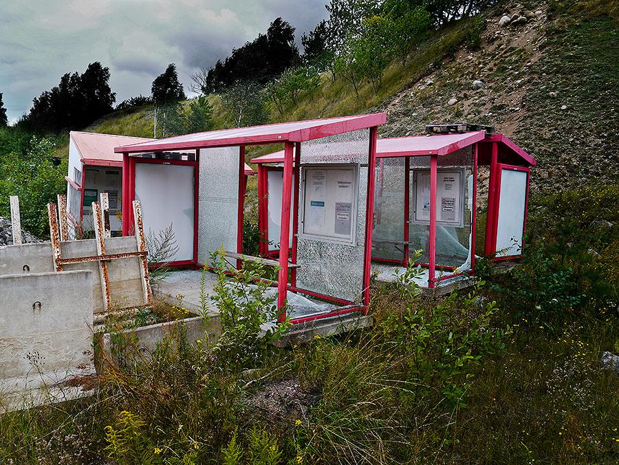 Bild 9- Kommunalt förråd vid Skepparkroksvägen 2011-08-14