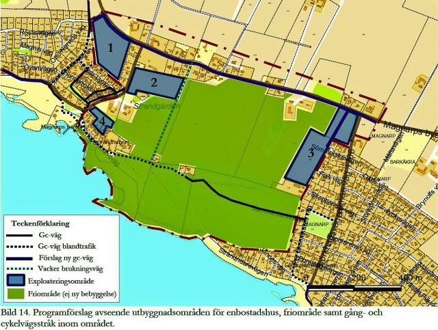 Planprogram för landskapet mellan Magnarp och Björkhagen