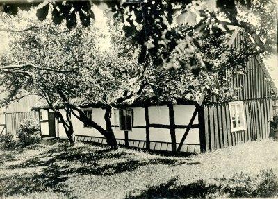 Hellbergs gammelgården (nuv. Nordfeldts) i Skepparkroken på 1920-talet