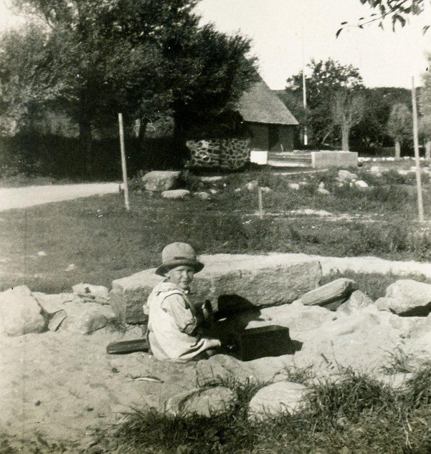Lek i Skepparkroken på 1920-talet