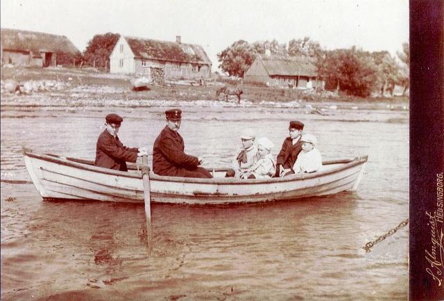 Kustroddare eller kustvakt i Skepparkroken c:a år 1900