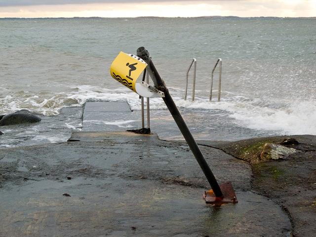 Resultat av stormen 1.a advent 2011 i Björkhagen